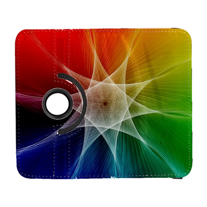Abstract Star Pattern Structure Galaxy S3 (Flip/Folio)