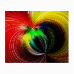 Circle Lines Wave Star Abstract Small Glasses Cloth (2 Side) by Celenk