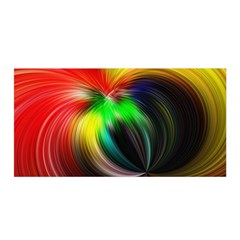 Circle Lines Wave Star Abstract Satin Wrap by Celenk