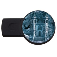 Church Stone Rock Building Usb Flash Drive Round (2 Gb) by Celenk