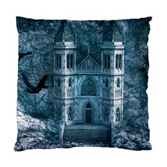 Church Stone Rock Building Standard Cushion Case (Two Sides)