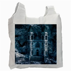 Church Stone Rock Building Recycle Bag (One Side)
