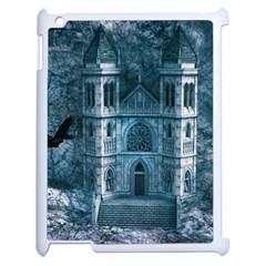 Church Stone Rock Building Apple iPad 2 Case (White)