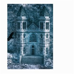 Church Stone Rock Building Large Garden Flag (two Sides) by Celenk