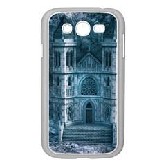 Church Stone Rock Building Samsung Galaxy Grand DUOS I9082 Case (White)