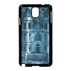 Church Stone Rock Building Samsung Galaxy Note 3 Neo Hardshell Case (Black)