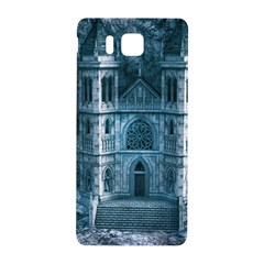 Church Stone Rock Building Samsung Galaxy Alpha Hardshell Back Case by Celenk