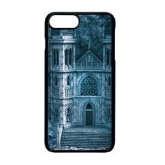 Church Stone Rock Building Apple iPhone 7 Plus Seamless Case (Black)