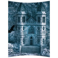 Church Stone Rock Building Back Support Cushion