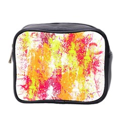 Painting Spray Brush Paint Mini Toiletries Bag 2 Side by Celenk