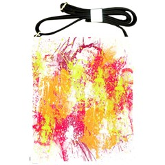 Painting Spray Brush Paint Shoulder Sling Bags by Celenk