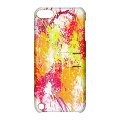 Painting Spray Brush Paint Apple Ipod Touch 5 Hardshell Case With Stand by Celenk