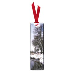 Winter Bach Wintry Snow Water Small Book Marks by Celenk