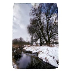 Winter Bach Wintry Snow Water Flap Covers (s)  by Celenk