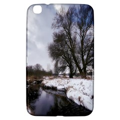 Winter Bach Wintry Snow Water Samsung Galaxy Tab 3 (8 ) T3100 Hardshell Case  by Celenk