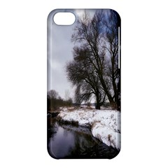 Winter Bach Wintry Snow Water Apple Iphone 5c Hardshell Case by Celenk