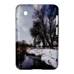 Winter Bach Wintry Snow Water Samsung Galaxy Tab 2 (7 ) P3100 Hardshell Case  by Celenk