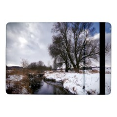 Winter Bach Wintry Snow Water Samsung Galaxy Tab Pro 10 1  Flip Case by Celenk