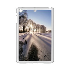 Winter Lake Cold Wintry Frozen Ipad Mini 2 Enamel Coated Cases by Celenk