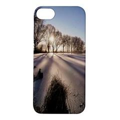 Winter Lake Cold Wintry Frozen Apple Iphone 5s/ Se Hardshell Case by Celenk