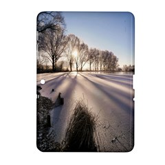 Winter Lake Cold Wintry Frozen Samsung Galaxy Tab 2 (10 1 ) P5100 Hardshell Case  by Celenk