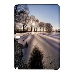 Winter Lake Cold Wintry Frozen Samsung Galaxy Tab Pro 12 2 Hardshell Case by Celenk