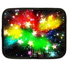 Star Abstract Pattern Background Netbook Case (xl)  by Celenk