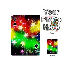 Star Abstract Pattern Background Playing Cards 54 (mini)  by Celenk
