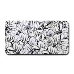 White Leaves Medium Bar Mats by SimplyColor