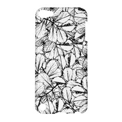 White Leaves Apple Ipod Touch 5 Hardshell Case by SimplyColor
