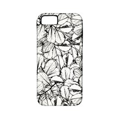 White Leaves Apple Iphone 5 Classic Hardshell Case (pc+silicone) by SimplyColor