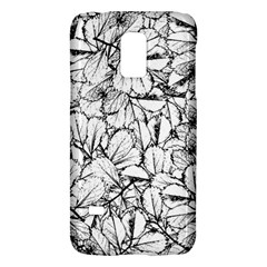 White Leaves Galaxy S5 Mini by SimplyColor