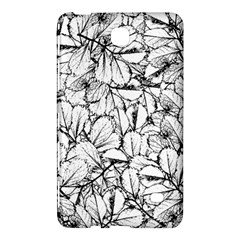 White Leaves Samsung Galaxy Tab 4 (8 ) Hardshell Case  by SimplyColor