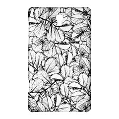 White Leaves Samsung Galaxy Tab S (8 4 ) Hardshell Case  by SimplyColor