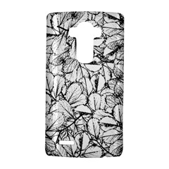 White Leaves Lg G4 Hardshell Case by SimplyColor