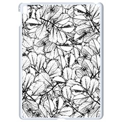 White Leaves Apple Ipad Pro 9 7   White Seamless Case by SimplyColor