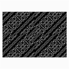 Tribal Stripes Pattern Large Glasses Cloth by dflcprints