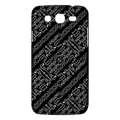 Tribal Stripes Pattern Samsung Galaxy Mega 5 8 I9152 Hardshell Case  by dflcprints