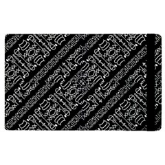 Tribal Stripes Pattern Apple Ipad Pro 9 7   Flip Case by dflcprints
