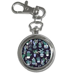 Cactus Pattern Key Chain Watches by allthingseveryone