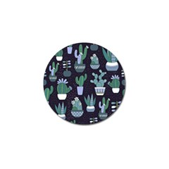 Cactus Pattern Golf Ball Marker (4 Pack) by allthingseveryone
