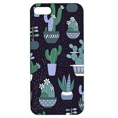 Cactus Pattern Apple Iphone 5 Hardshell Case With Stand by allthingseveryone