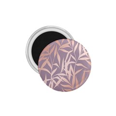 Rose Gold, Asian,leaf,pattern,bamboo Trees, Beauty, Pink,metallic,feminine,elegant,chic,modern,wedding 1 75  Magnets