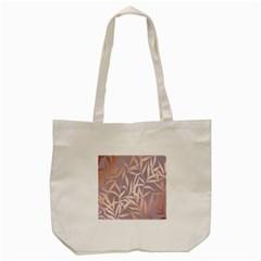 Rose Gold, Asian,leaf,pattern,bamboo Trees, Beauty, Pink,metallic,feminine,elegant,chic,modern,wedding Tote Bag (cream)