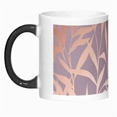 Rose Gold, Asian,leaf,pattern,bamboo Trees, Beauty, Pink,metallic,feminine,elegant,chic,modern,wedding Morph Mugs