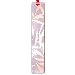 Rose Gold, Asian,leaf,pattern,bamboo Trees, Beauty, Pink,metallic,feminine,elegant,chic,modern,wedding Large Book Marks by 8fugoso