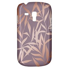 Rose Gold, Asian,leaf,pattern,bamboo Trees, Beauty, Pink,metallic,feminine,elegant,chic,modern,wedding Galaxy S3 Mini