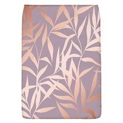 Rose Gold, Asian,leaf,pattern,bamboo Trees, Beauty, Pink,metallic,feminine,elegant,chic,modern,wedding Flap Covers (s)