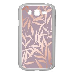 Rose Gold, Asian,leaf,pattern,bamboo Trees, Beauty, Pink,metallic,feminine,elegant,chic,modern,wedding Samsung Galaxy Grand Duos I9082 Case (white) by 8fugoso