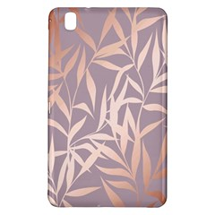 Rose Gold, Asian,leaf,pattern,bamboo Trees, Beauty, Pink,metallic,feminine,elegant,chic,modern,wedding Samsung Galaxy Tab Pro 8 4 Hardshell Case by 8fugoso